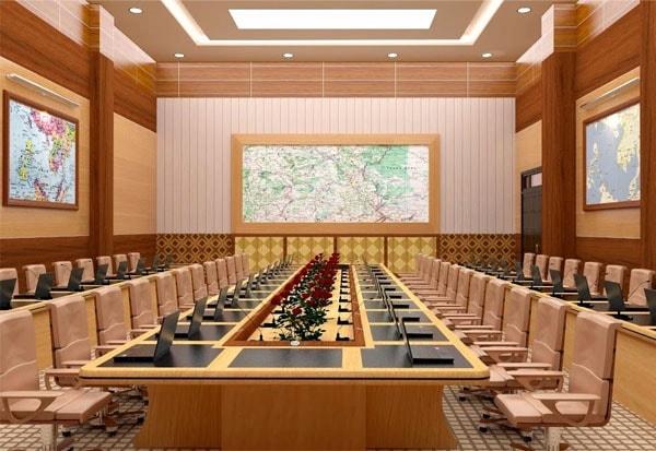 Cách lựa chọn những bộ bàn ghế phù hợp không gian hội trường 2