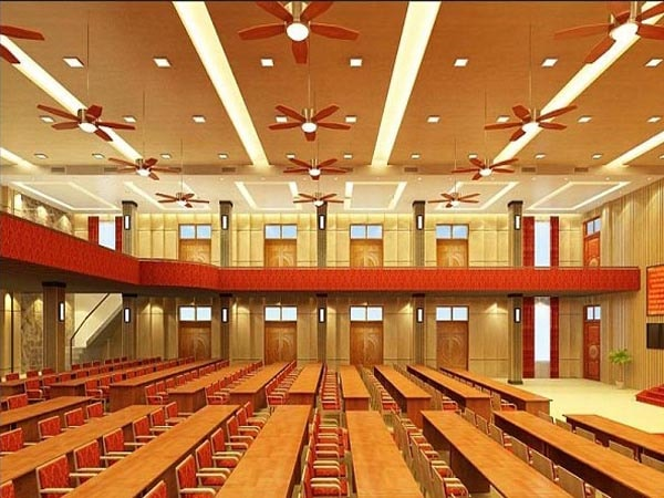 Những yêu cầu về âm thanh, ánh sáng trong thiết kế nội thất hội trường