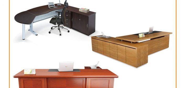 Kiểu dáng bàn làm việc văn phòng và ý nghĩa phong thủy