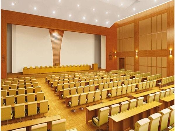 Chọn ghế hội trường cho không gian nhỏ