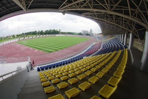 Những mẫu ghế sân vận động Hòa Phát phổ biến