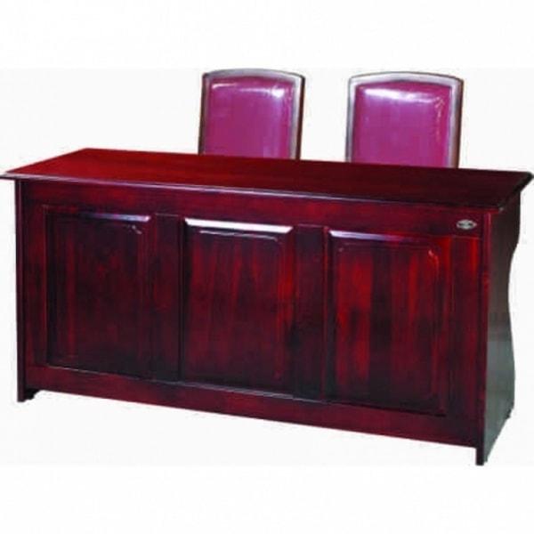Một số bàn hội trường bằng gỗ tự nhiên giá rẻ
