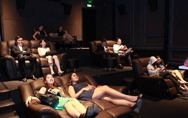 Ghế rạp chiếu phim nằm
