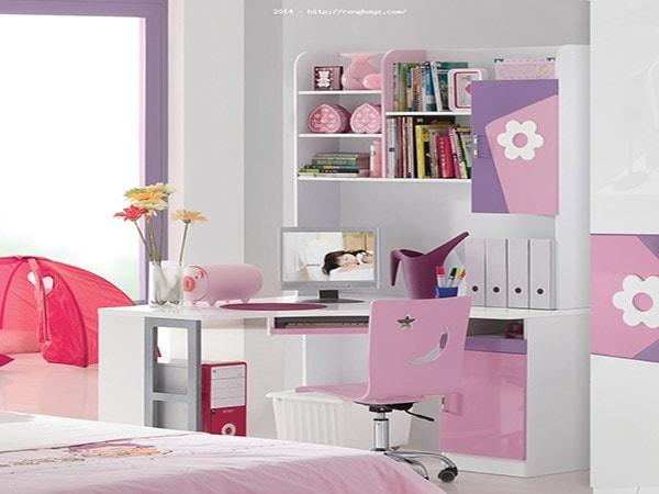 Bàn học liền giá sách – Món nội thất thông minh cho nhà nhỏ