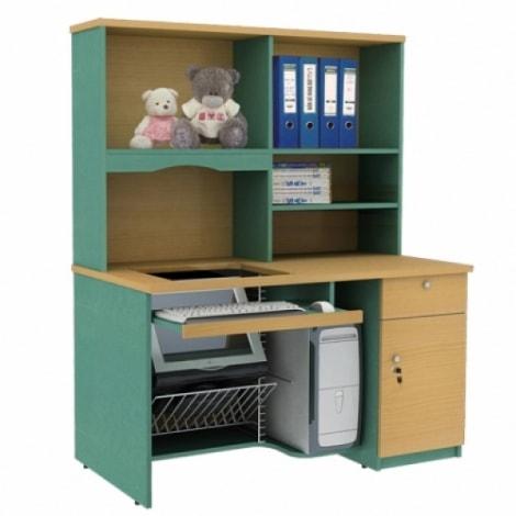 Bàn học liền giá sách – Món nội thất thông minh cho nhà nhỏ 3