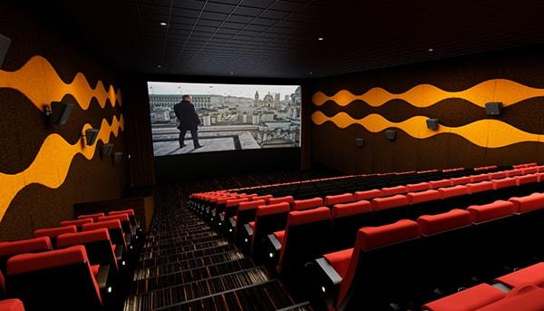 Cách loại bỏ tiếng vang trong rạp chiếu phim