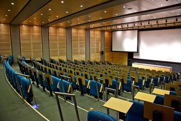 Thiết kế hội trường với chức năng chính là tổ chức hội thảo