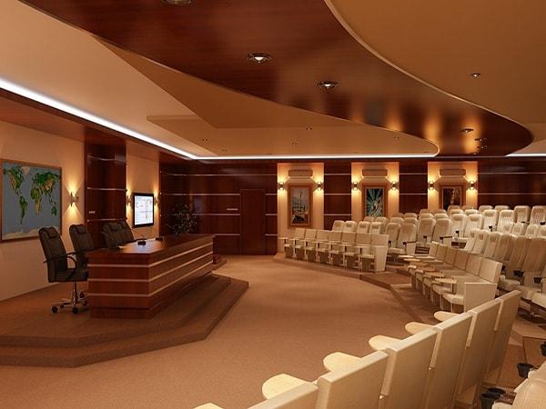 Tư vấn thiết kế đối với hội trường 200 chỗ ngồi