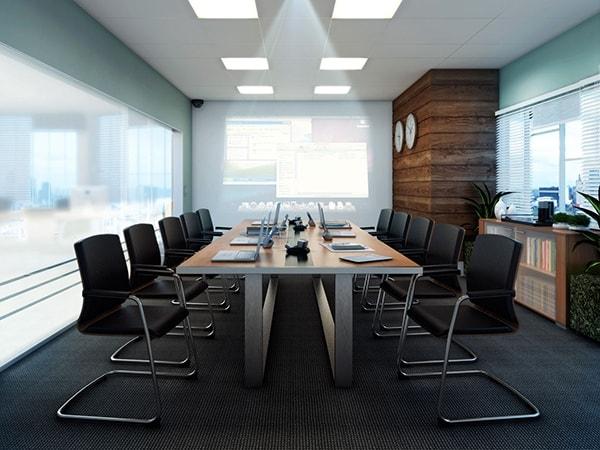 Bố trí phòng họp nhỏ hẹp, cần lưu ý gì?