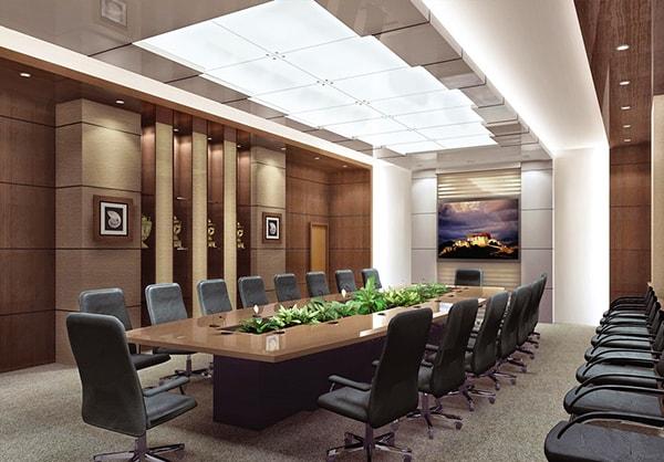 Mang thiên nhiên vào không gian phòng họp giúp giảm bớt sụ căng thẳng, mệt mỏi