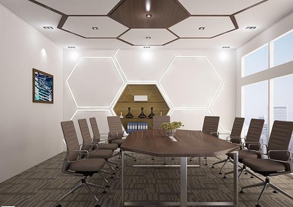 Mẫu thiết kế phòng họp theo phong cách hiện đại, thời thượng