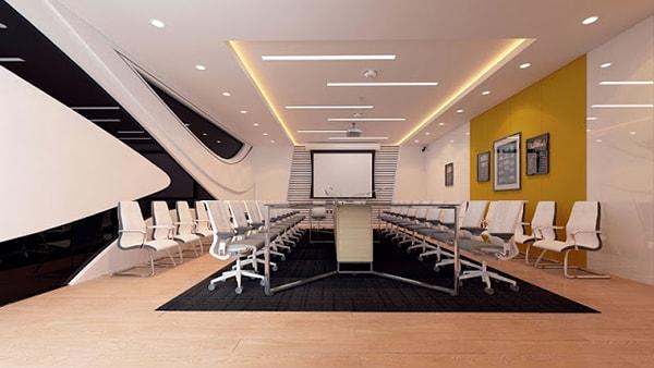 Cách bố trị nội thất thiết bị phòng họp cần đáp ứng tối đa hiệu quả và công năng sử dụng