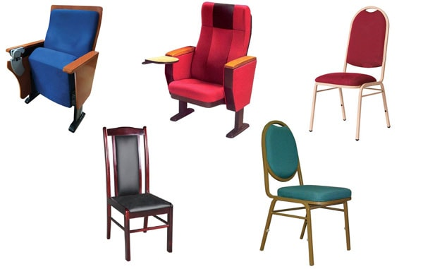 Một chiếc ghế tiêu chuẩn phải đủ rộng cho mọi người với các vóc dáng khác nhau đều có thể ngồi