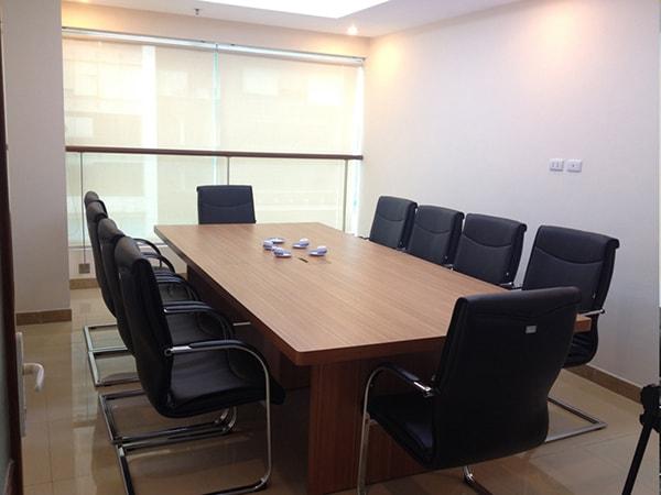 Hội trường phòng họp là nơi cần trang trọng