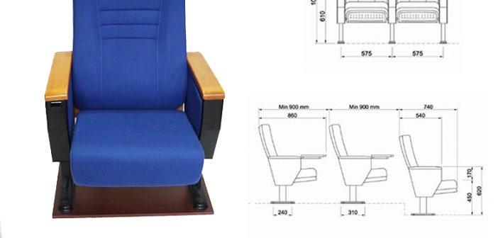 Kích thước ghế hội trường chuẩn và cách bố trí hội trường hợp lý 1