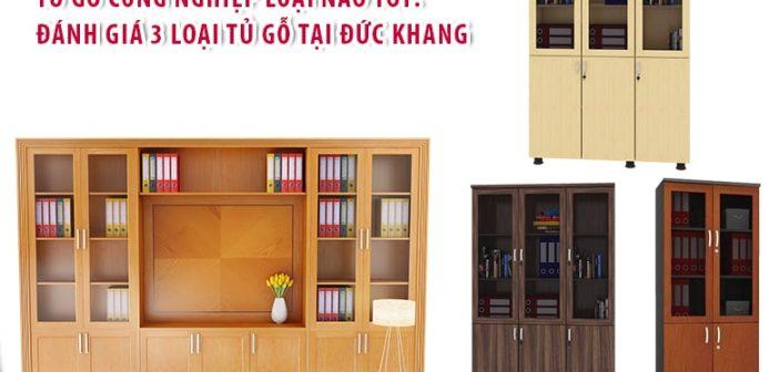 Tủ gỗ công nghiệp loại nào tốt: đánh giá 3 loại tủ gỗ tại Đức Khang