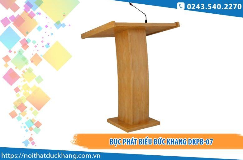 Bục phát biểu Đức Khang DKPB-07 giá tốt tại Hà Nội