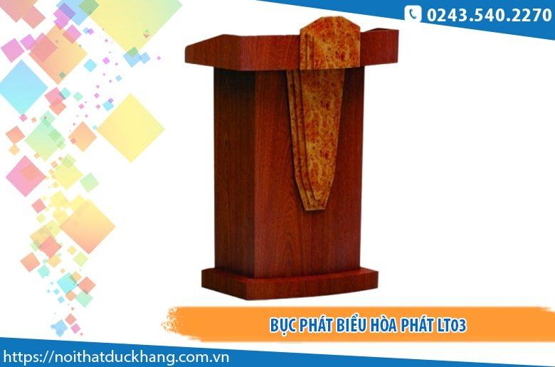 Bục phát biểu Hòa Phát LT03 giá tốt ở Hà Nội