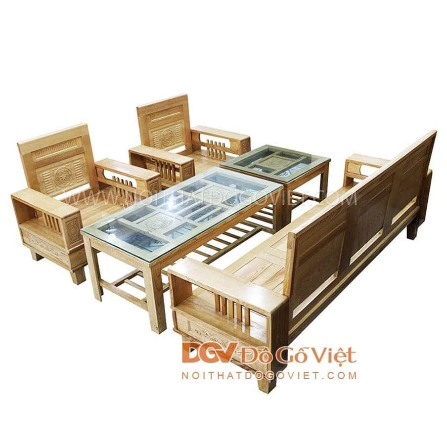 Bàn ghế gỗ tự nhiên có độ bền cao