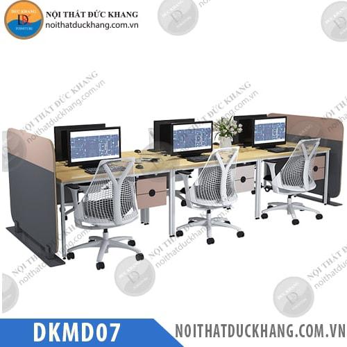 Cụm bàn làm việc 6 người DKMD07